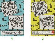 Stone Temple Pilots Backstage Pass