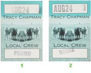 Tracy Chapman Backstage Pass