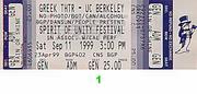 Spirit of Unity Festival Vintage Ticket
