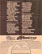 Miami Pop Festival Handbill