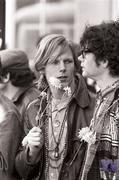 Hippies Vintage Print