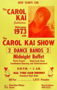 Carol Kai Poster