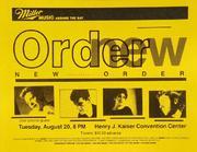 New Order Handbill