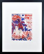 Country Joe & the Fish Framed Handbill