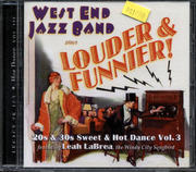 West End Jazz Band CD