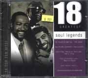 18 Greatest Soul Legends CD