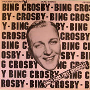 """Bing Crosby Vinyl 12"""" (Used)"""