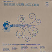 "The Blue Angel Jazz Club Vinyl 12"" (New)"