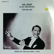 "Hal Kemp & His Orchestra Vinyl 12"" (Used)"