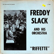 """Freddy Slack and His Orchestra Vinyl 12"""" (Used)"""