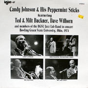 "Candy Johnson & His Peppermint Sticks Vinyl 12"" (New)"
