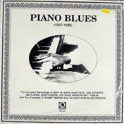 "Piano Blues (1927-1930) Vinyl 12"" (New)"