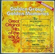 """Golden Groups Golden Memories Vinyl 12"""" (Used)"""