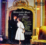 """Memorable Music From The Movies Vinyl 12"""" (Used)"""