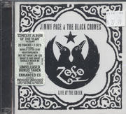 Jimmy Page & The Black Crowes CD