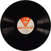 "U.S. Air Force Manhattan Melodies Vinyl 12"" (Used)"