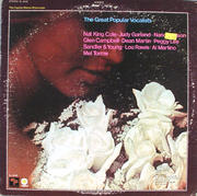 """The Great Popular Vocalists Vinyl 12"""" (Used)"""