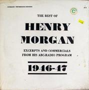 """Henry Morgan Vinyl 12"""" (Used)"""