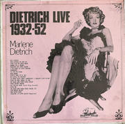 """Marlene Dietrich Vinyl 12"""" (New)"""