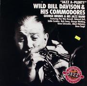 "Wild Bill Davison & His Commodores Vinyl 12"" (New)"