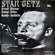 "Stan Getz / Erroll Garner / Sonny Criss / Buddy Collette Vinyl 12"" (Used)"