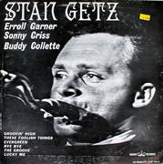 "Stan Getz / Erroll Garner / Sonny Criss / Buddy Collette Vinyl 12"" (Used)"