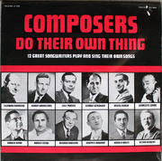 "Composers Do Their Own Thing Vinyl 12"" (New)"