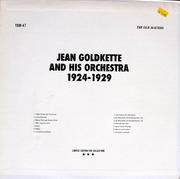 """Jean Goldkette And His Orchestra Vinyl 12"""" (Used)"""