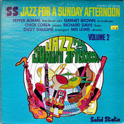 "Jazz For A Sunday Afternoon Volume 2 Vinyl 12"" (Used)"