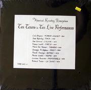 """Carlo Bergonzi Vinyl 12"""" (New)"""