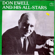 """Don Ewell And His All-Stars Vinyl 12"""" (New)"""
