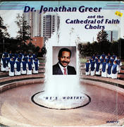 """Dr. Jonathan Greer And The Cathedral Of Faith Choirs Vinyl 12"""" (Used)"""
