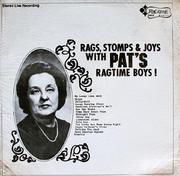 "Pat's Ragtime Boys! Vinyl 12"" (New)"