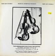 "Two Serenades For String Orchestra Vinyl 12"" (Used)"