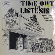 "Time Out for Listening Vinyl 12"" (New)"