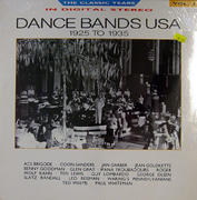 "Dance Bands USA 1925 to 1935 Vinyl 12"" (New)"