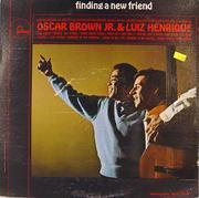 """Oscar Brown, Jr. / Luiz Henrique Vinyl 12"""" (Used)"""