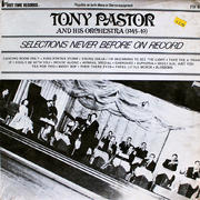 "Tony Pastor And His Orchestra Vinyl 12"" (Used)"