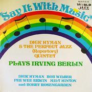"Dick Hyman & The Perfect Jazz (Repertory) Quintet Vinyl 12"" (Used)"