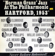 "Norman Granz' Jazz At The Philharmonic: Hartford, 1953 Vinyl 12"" (Used)"