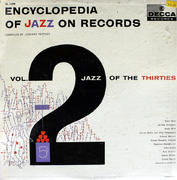 "Encyclopedia Of Jazz On Records: Vol. 2 Jazz Of The Thirties Vinyl 12"" (Used)"