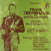 "Frank Trumbauer And His Orchestra Vinyl 12"" (New)"