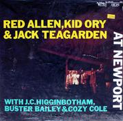 """Red Allen, Kid Ory & Jack Teagarden Vinyl 12"""""""