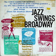 "Jazz Swings Broadway Vinyl 12"" (Used)"