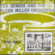 "Tex Beneke And The Glenn Miller Orchestra Vinyl 12"""