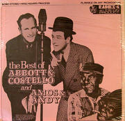 """The Best Of Abbott and Costello And Amos & Andy Vinyl 12"""" (New)"""