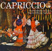 """Capriccio Vinyl 12"""" (Used)"""