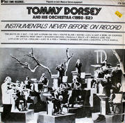 "Tommy Dorsey & His Orchestra Vinyl 12"" (New)"