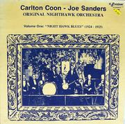 """Carlton Coon / Joe Sanders Vinyl 12"""" (Used)"""