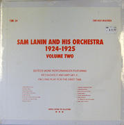 """Sam Lanin And His Orchestra Vinyl 12"""" (New)"""